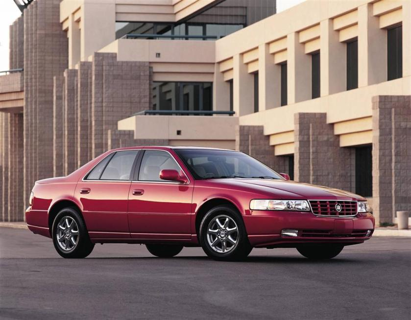 2000 Cadillac Seville STS: conceptcarz.com