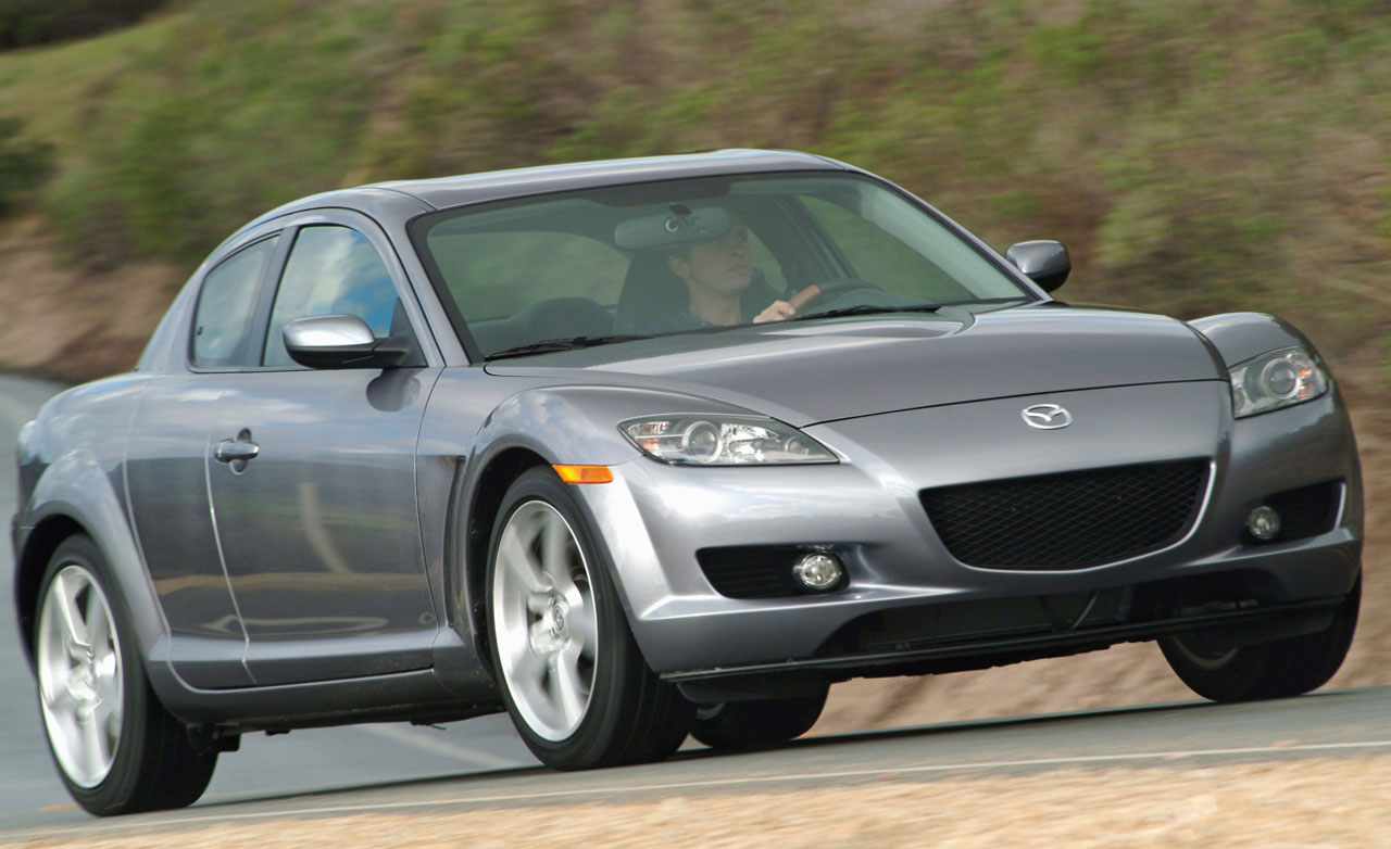 looking back 2001 mazda rx 8 driven to write. Black Bedroom Furniture Sets. Home Design Ideas