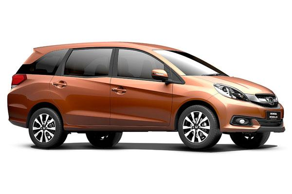 2015 Honda Mobilio. This colour is not on offer in India: gearheads.org