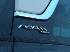 2015 Opel Adam C-pillar detail