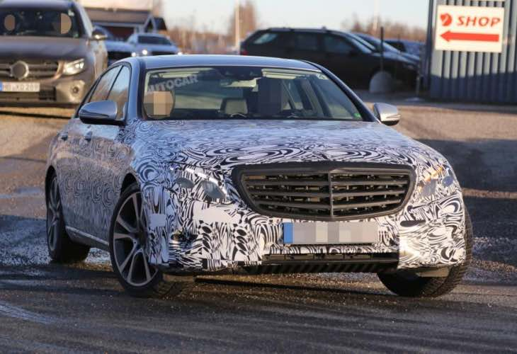 The S-Class' younger, smarter and slightly cheaper brother. Still want that top of the range Merc? Image via Autocar