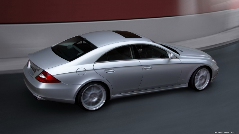 The 2004 CLS - image via tuning.carwallpapers