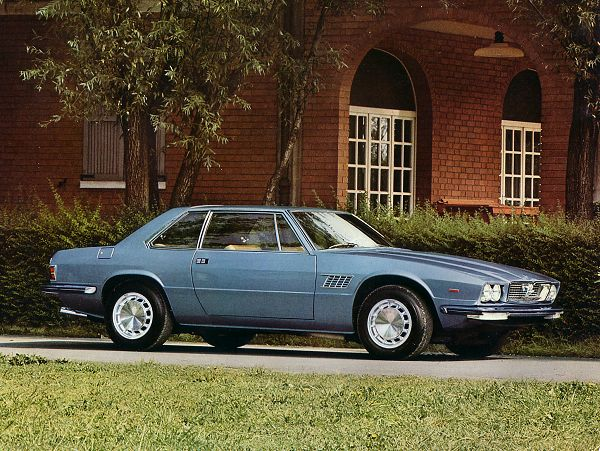 For a Hybrid, it's a fine piece of work. The 1976 Maserati Kylami