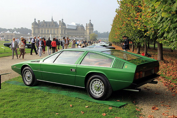 Not Giugiaro's finest hour - Ital's Tipo 124 - canned in 1975