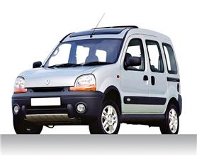 2001 Renault Trekka 4x4 white small