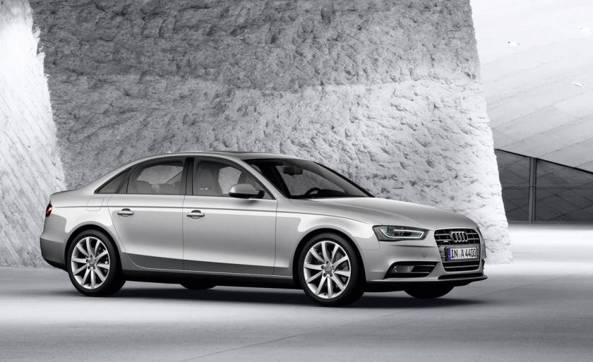 2014 Audi A4 in that most typical of Audi colours: Audi