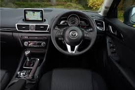 Mazda3 - view from the driver's seat