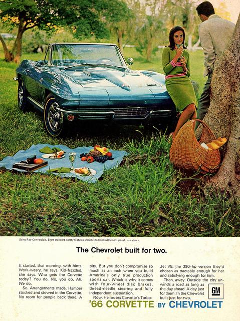 1966 Chevrolet picnic scene