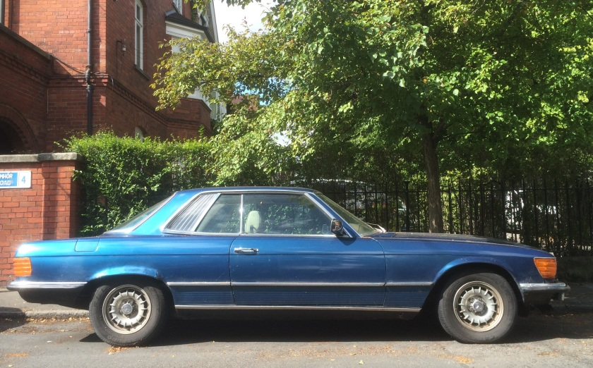 1971-1981 Mercedes 450 SLC in Dublin. Immobile.