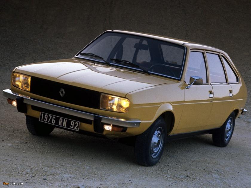 1975 Renault 20 TL: www.favcars.com