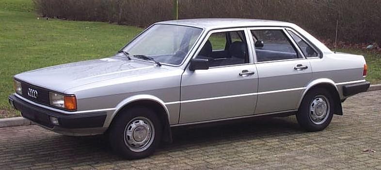 1978 Audi 80: wikipedia.org
