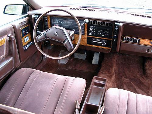 1984 Buick Century interior: kerbsideclassic.com