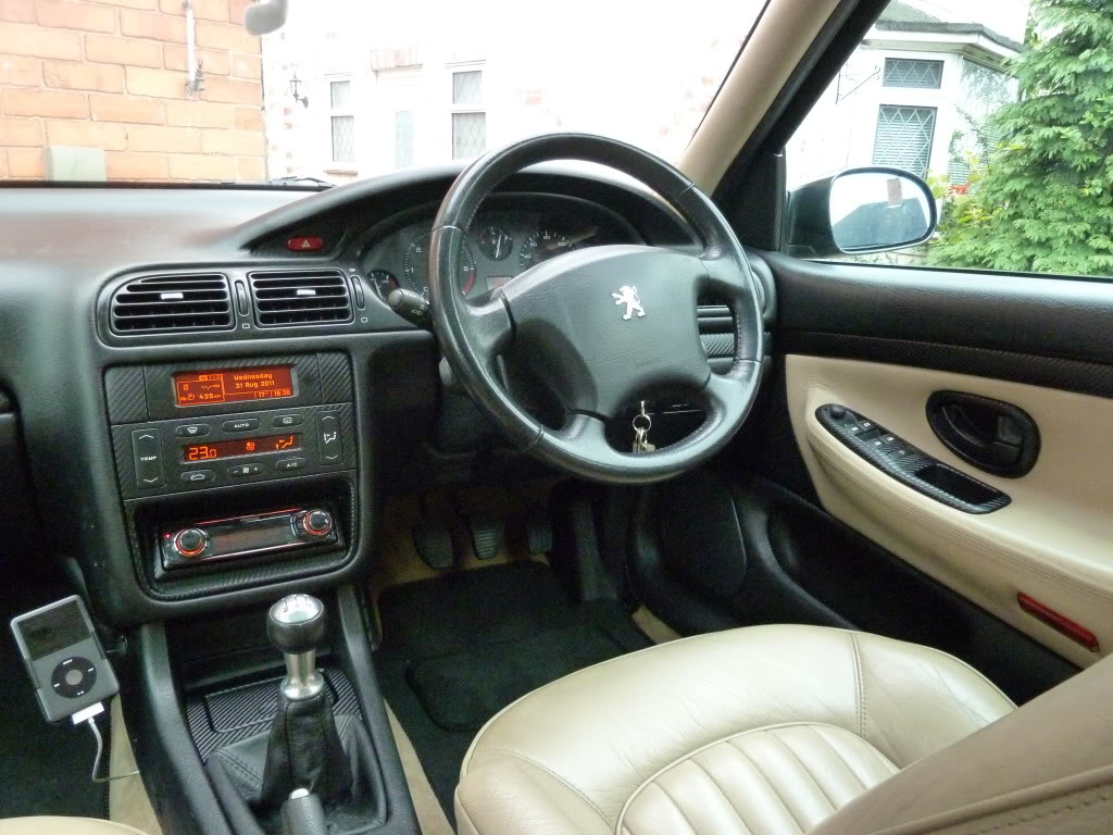 image gallery peugeot 406 1997 interior
