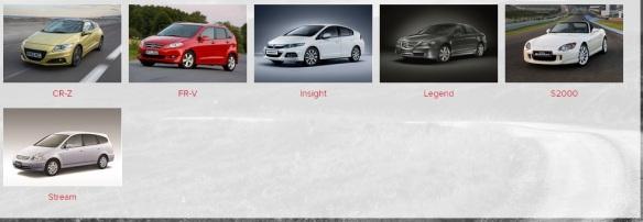 Plenty of space there for some better cars. Honda Logo? Image: Honda UK