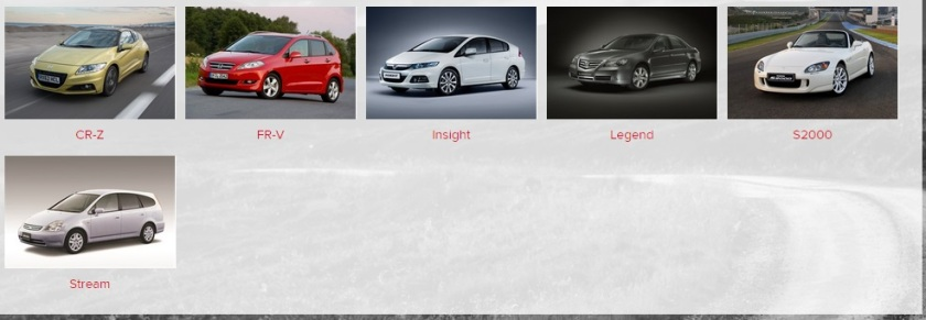 Plenty of space there for some better cars. Honda Logo? Image: Honda UK