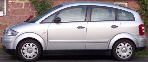 Audi A2 Side View