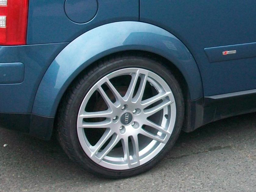 Audi Wheelarch