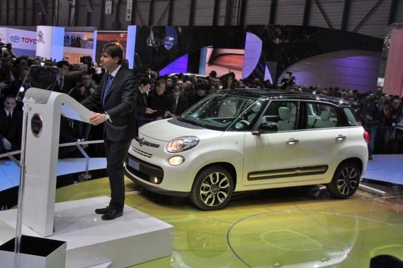 Fiat brand CEO, Olivier Francois. Image via thedetroitbureau