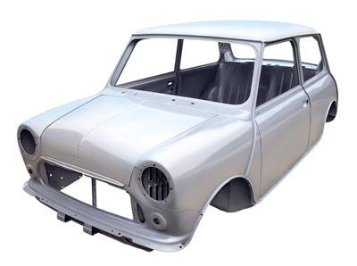 Mini bodyshell - exposed seams and all. Image via Studdsey