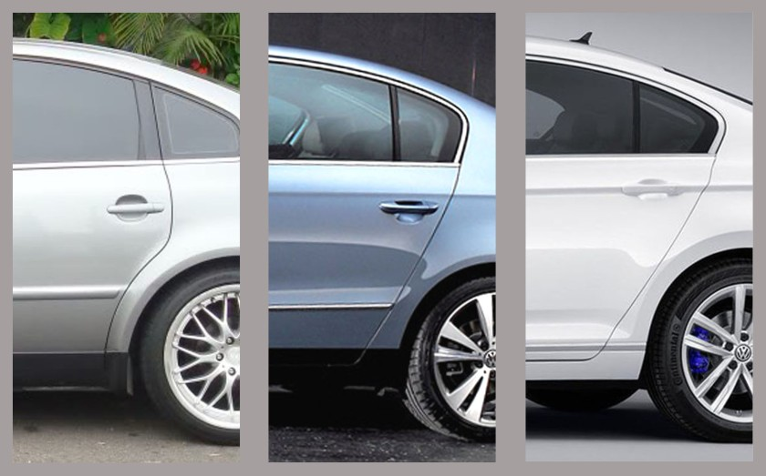 Passat Wheelarches