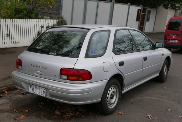 1996 Subaru Impreza (wikipedia.org)