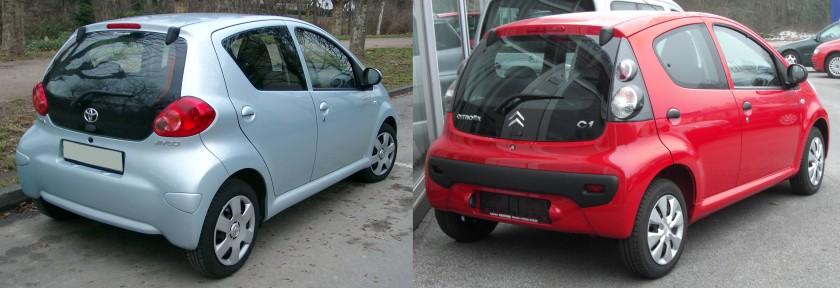 Toyota & Citroen