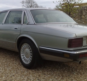 That car again. XJ40's not very subtle solution.