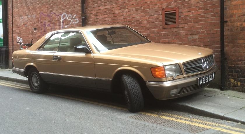 1979-1991 Mercedes SEC