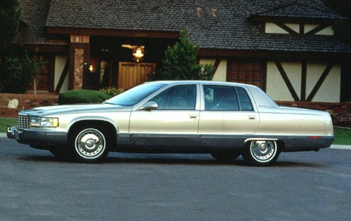 1995 Cadillac Fleetwood, a name that meant something and still does:zombdrive.com