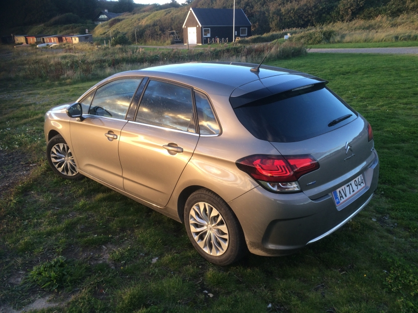 2015 Citroen C4 faces the sunset in literal and metaphorical terms.