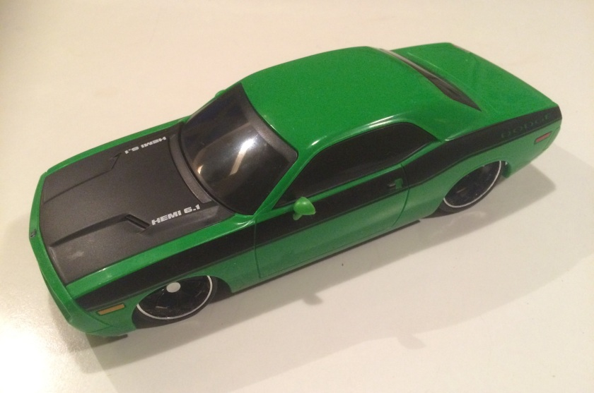 2015 Dodge Challenger remote control car by Maisto.