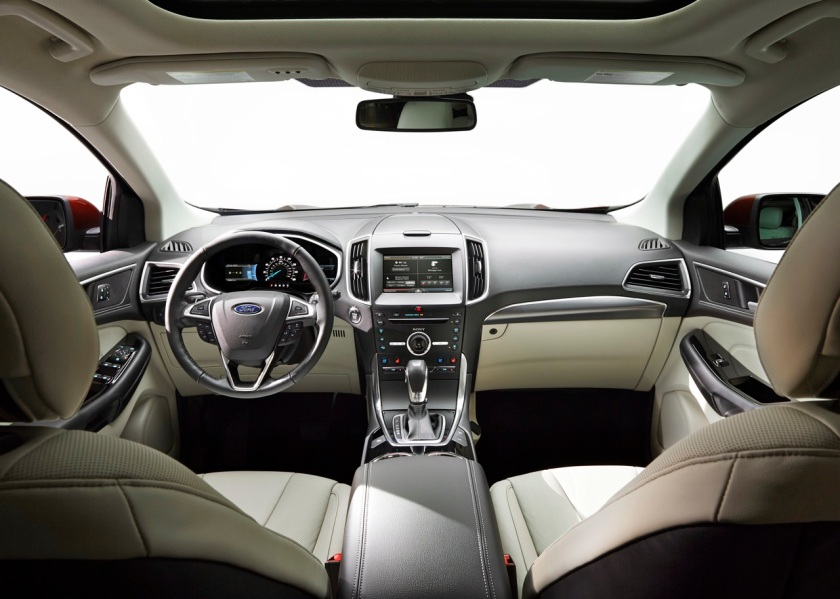 """""""All-New 2015 Edge showcases Ford's best technology, more driver-assist features, improved performance and outstanding craftsmanship"""" - Ford"""