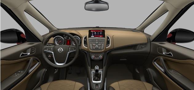 2015 Opel Zafira IP in Innovation trim: Opel.de