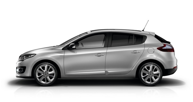 2015 Renault Megane. If you own one of these, it has looked rubbish since Septemnber the 8th, 2011. Image: Renault UK