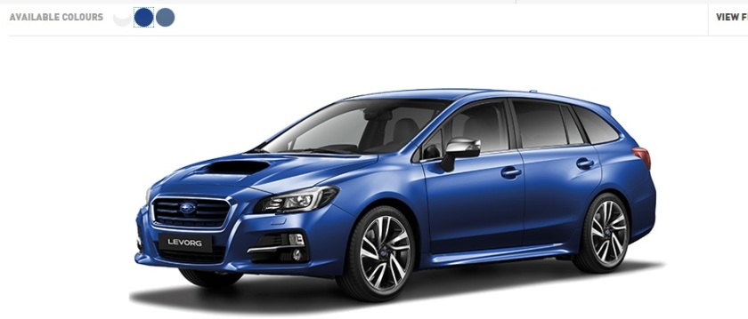Can you name this car? It is available in three colours: Subaru UK