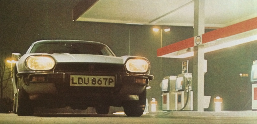 1976 Jaguar XJ-S in its natural habitat: Motor Sport magazine