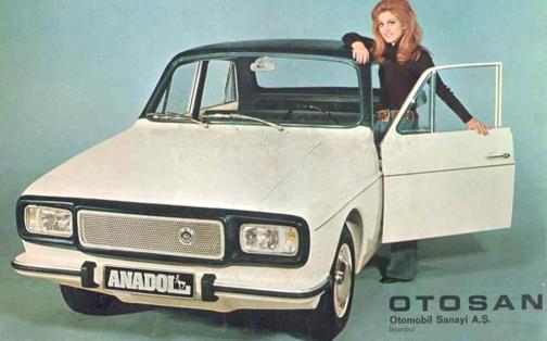 1974 Anadol Otosan aka the Renault 12: productioncars.com