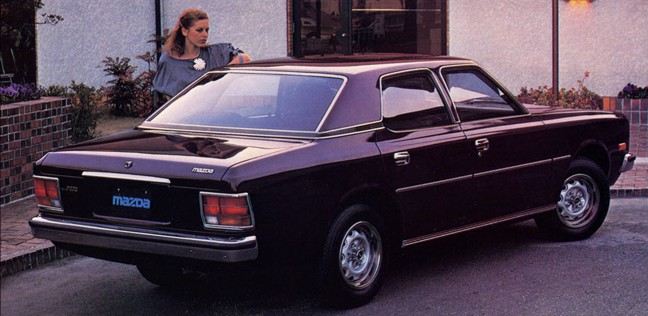 1978 Mazda 929. It´s a bit like a Ope Commodore: productioncars.com