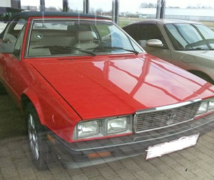 1983 Maserati Biturbo convertible or whatever: bilbasen.dk