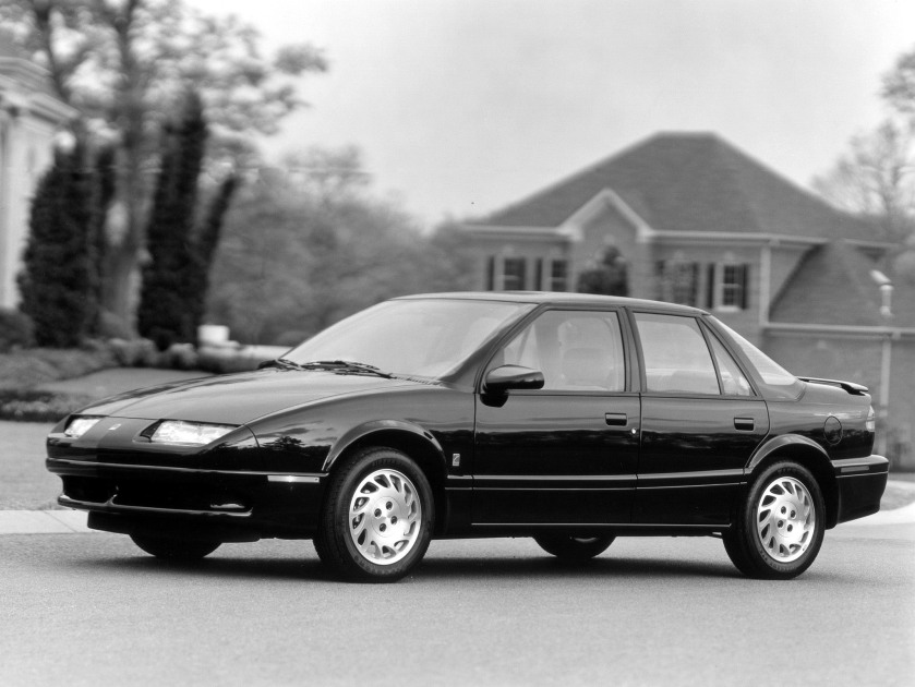 1990 Saturn SL: mad4wheels com