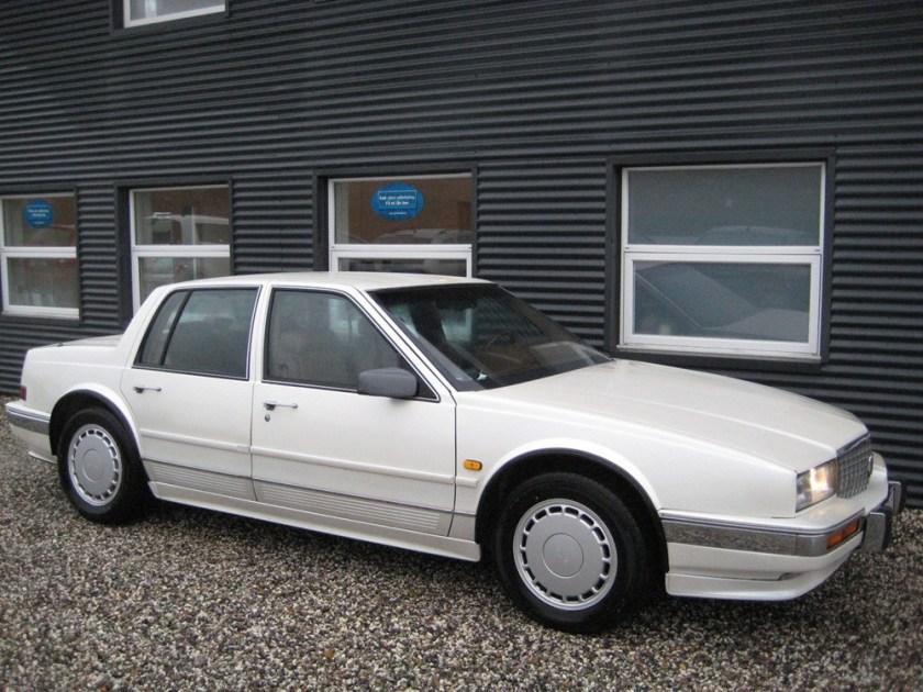 1991 Cadillac Seville STS til salg: EZ Biler, Denmark.