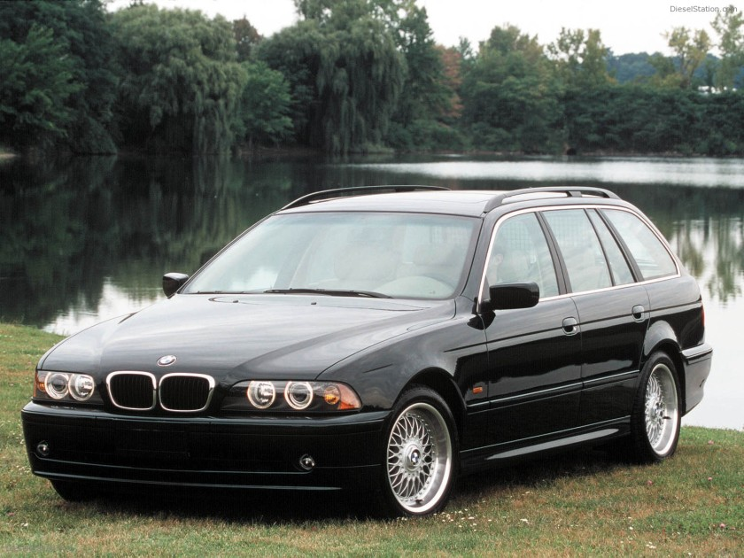 1996 BMW 5-series: dieselstation.com