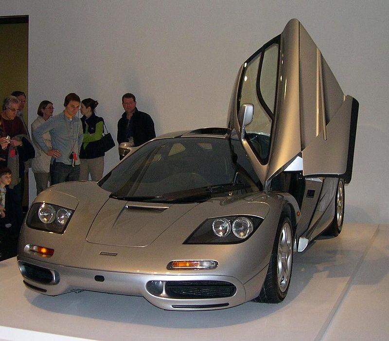 1996 McLaren F1: wikipedia.org