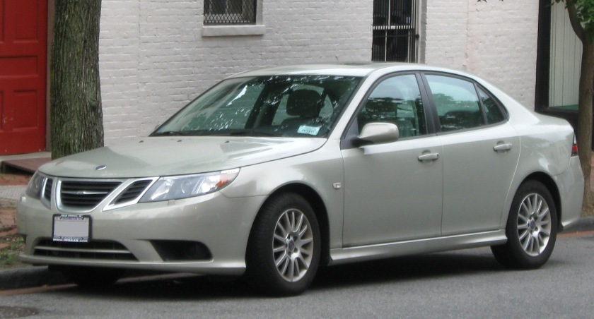 2009 Saab 9-3 saloon: wikipedia.org (give them some money, please. €5 will do.)