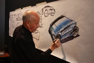 Bryon Fitzpatrick liked to draw large sketches: artisan-ideaskillproduct.blogspot.com