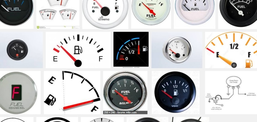 2015 Fuel gauges