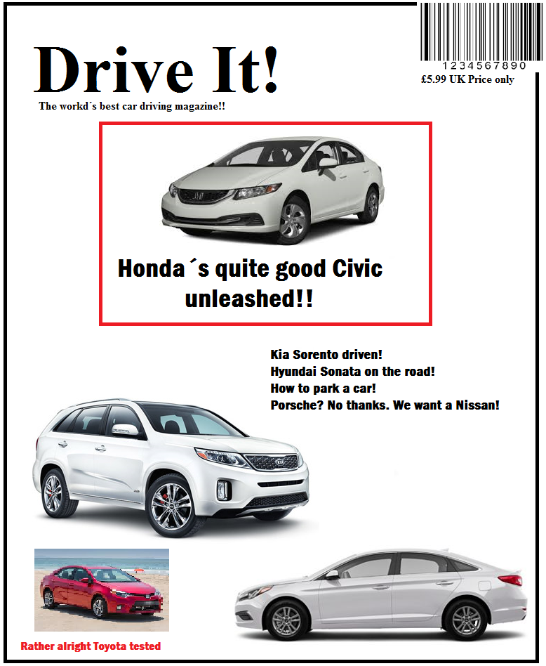 Drive It! magazine is among the best car magazines in the entire solar system!