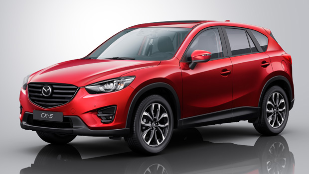 A popular Mazda, the 2105 CX-5: www.omniauto.it