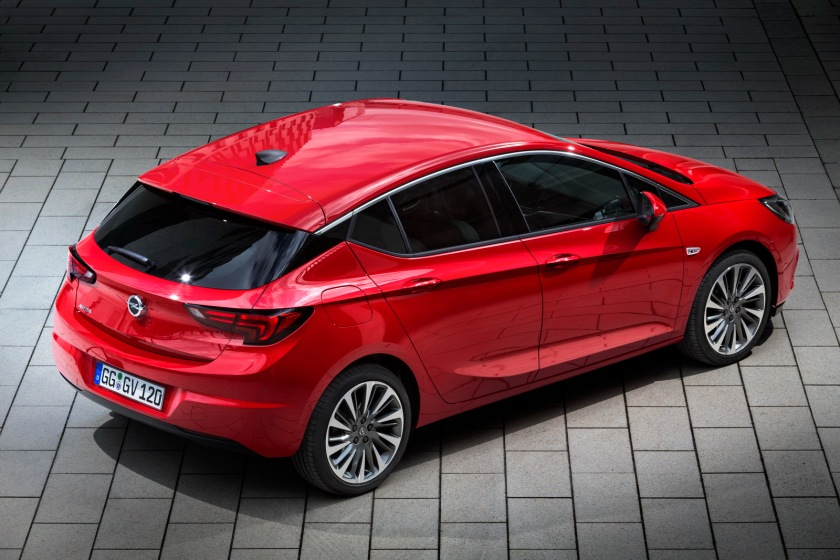 2016 Opel Astra: www.carscoops.com