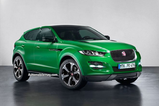 2020 Jaguar E-pace: Automobile Magazine.com (as it says on the picture itself). It´s a good website. Take a look.